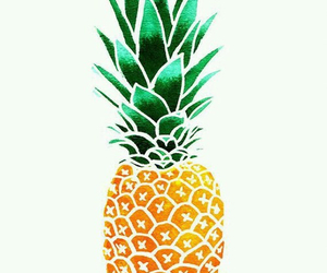 design, pineapple, and summer image
