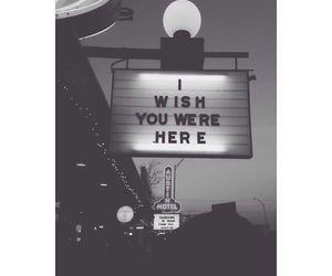 wish, quote, and black and white image