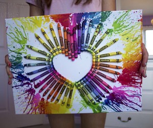 heart, tumblr, and colorful image