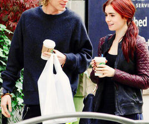 lily collins, jamily, and couple image