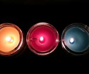 candles, decoration, and cocooning image
