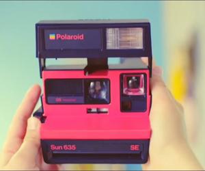 camera, pink, and retro image