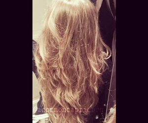 beautiful, blonde, and curls image