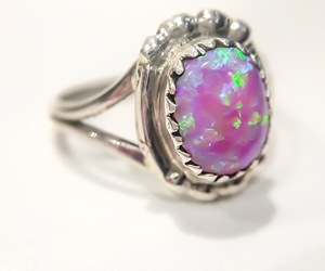 jewel, purple, and ring image