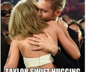calvin harris, funny, and Taylor Swift image