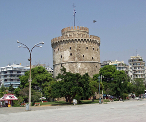 Greece, thessaloniki, and love image