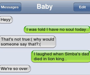 text, funny, and lion image