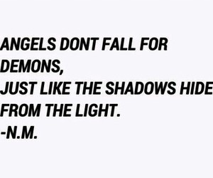 angels, demons, and fall image
