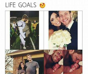 goals, couple, and life image