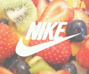 fruit, nike, and background image
