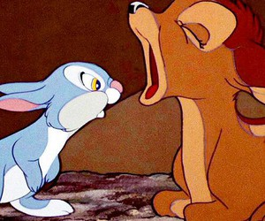bambi, disney, and thumper image