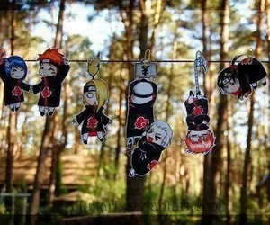 naruto, akatsuki, and anime image