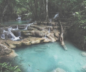 nature, water, and summer image