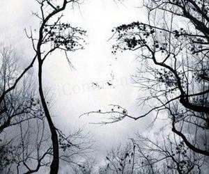 art, nature, and eyes image