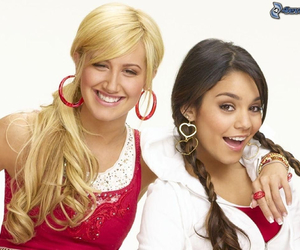 ashley tisdale, high school musical, and vanessa hudgens image