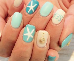 nails, summer, and nailart image