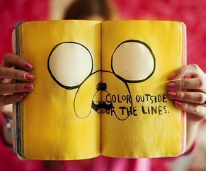 adventure time, JAKe, and photography image