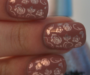 mani, cute, and nail art image