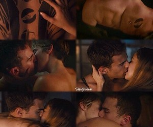 kiss, divergent, and theo james image