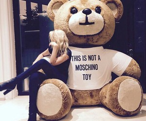 Moschino, bear, and toys image