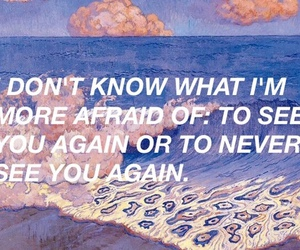 quote, afraid, and grunge image