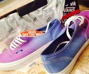 vans, blue, and new image