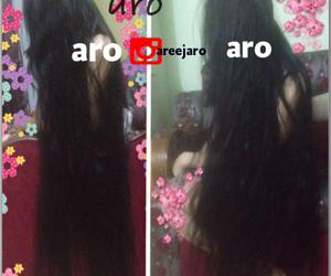 @hair, @aro, and @long hair image