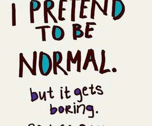 normal, quotes, and boring image