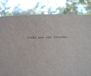 book, friends, and text image