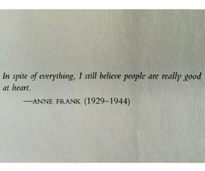 anne frank, inspiration, and hero image