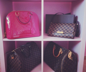 bags, luxury, and perfect image