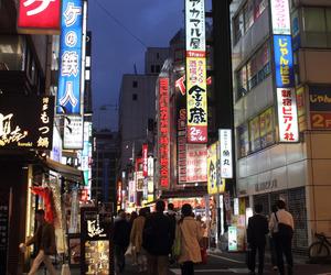 japan, japanese, and night image