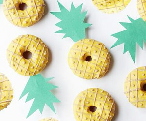 donuts, pineapple, and food image