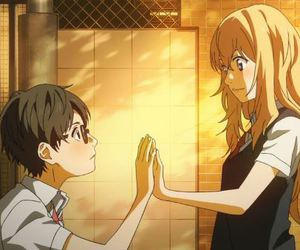 shigatsu wa kimi no uso, anime, and love image
