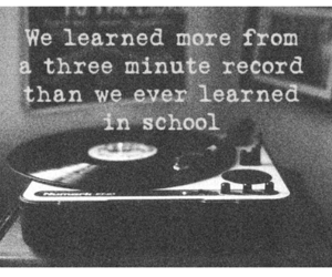 music, record, and school image