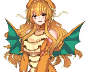 pokemon, dragonite, and gijinka image
