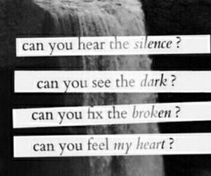 black and white, bring me the horizon, and dark image