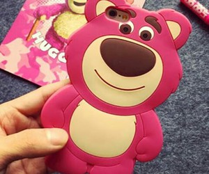 lotso, case, and toy story image