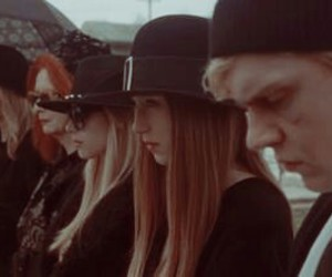 american horror story, black, and grunge image