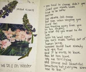 flower, grunge, and indie image