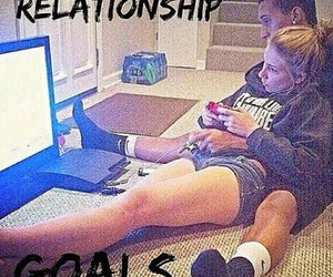 goals, cute, and couple image