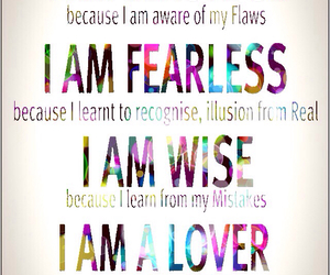 strong, lover, and fearless image