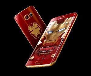Avengers, iron man, and smartphone image
