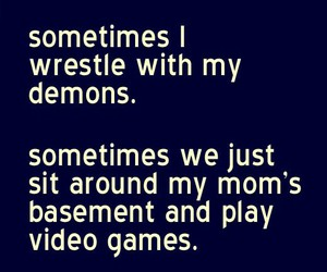 basement, funny, and games image