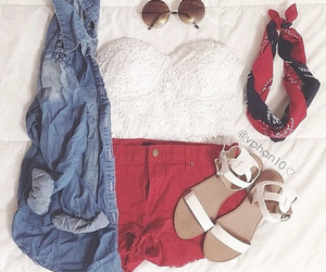 outfit, perfect, and red image