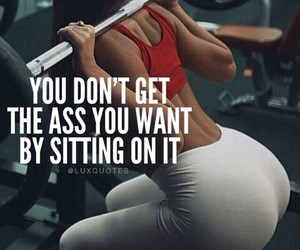 fitness, quotes, and gym image