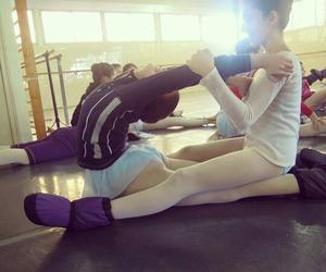 bailarina, ballet, and dance image