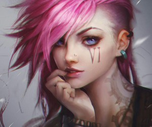 VI, lol, and league of legends image