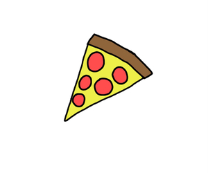 pizza, transparent, and tumblr image