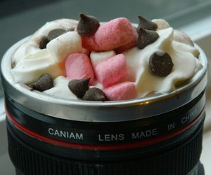 camera, hot ​chocolate, and delicious image